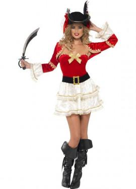 Disfraz de Pirata con torera para mujer