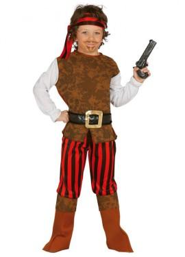 Disfraz de Pirata Corsario para niño