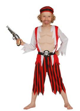 Disfraz de Pirata Descamisado para niño