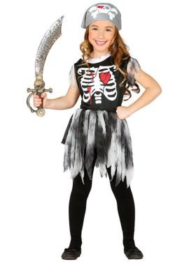 Déguisement de Pirate Squelette pour enfants