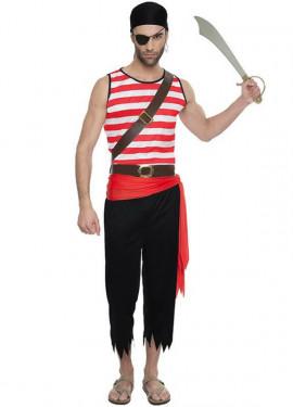Disfraz de Pirata Forzudo para hombre