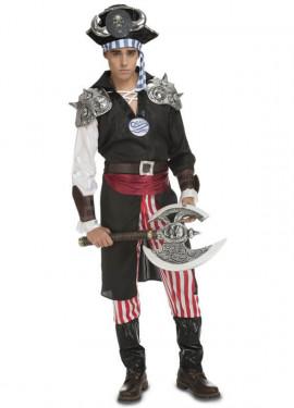 Disfraz de Pirata Jack Devil Fantasía para hombre