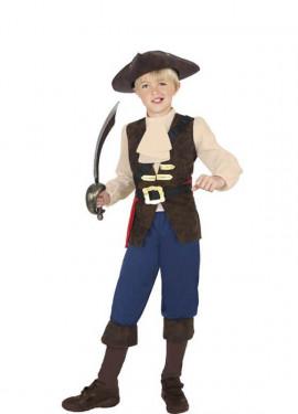 Disfraz de Pirata Jack para Niño