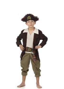 Disfraz de Pirata Jackmann para niño