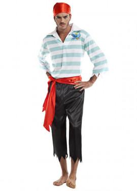 Disfraz de Pirata Loro para hombre