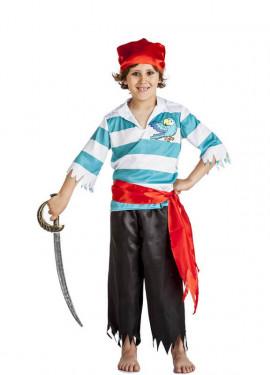 Disfraz de Pirata Loro para niño
