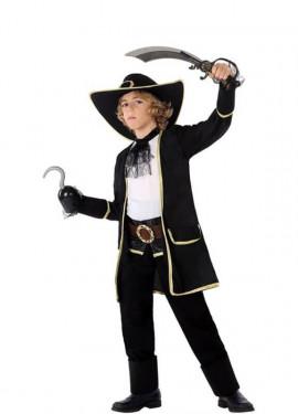 Disfraz de Pirata Oscuro para niño