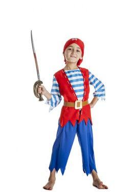 Disfraz de Pirata picos para niño
