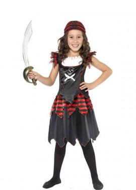 40dee2c1e Disfraces de Piratas, Bucaneros y Corsarios para Niña