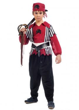 Déguisement Pirate Shanks pour garçon