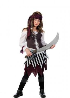 Déguisement Pirate Talia deluxe pour fille