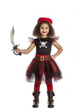 Disfraz de Pirata Tutú para niña