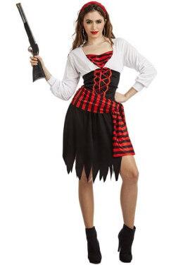5beeb602b0d Disfraz de Pirata Zíngara para mujer