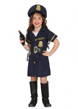 Disfraz de Police Girl para niña