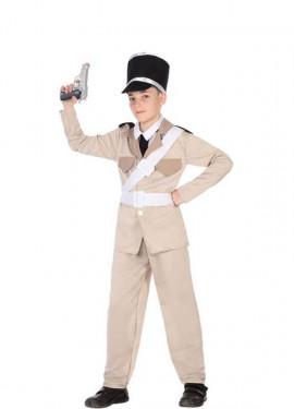 Déguisement de Gendarme Français Années 20 pour garçon