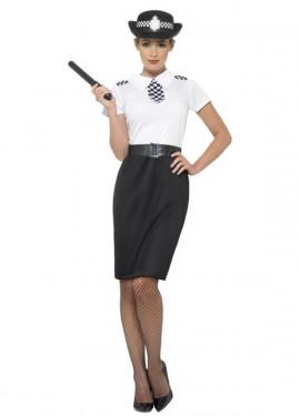 Disfraz de Policía Británica para mujer