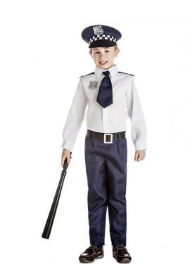 Disfraz de Policía con Corbata para niño y bebé