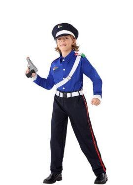 Disfraz de Policía Italiano para niño