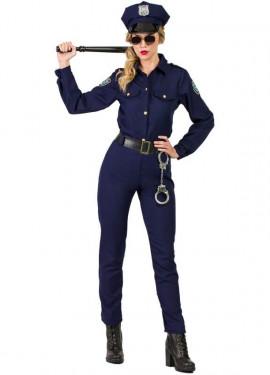 Disfraz de Policía New York para mujer
