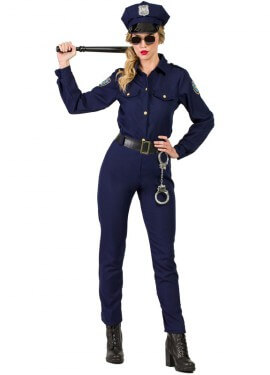 disfraces mujer policia