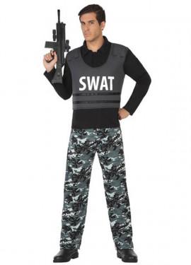Disfraz de Policía SWAT para hombre