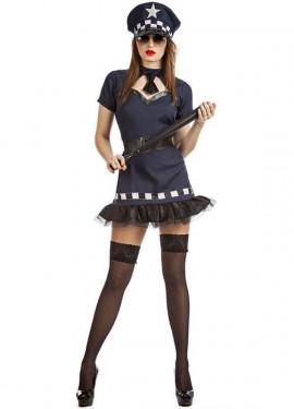 Disfraz de Policía Tutú para mujer