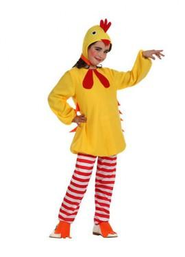 Disfraz de Pollito amarillo para niñas