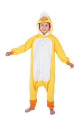 Disfraz de Pollito amarillo para niños