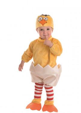 Disfraz de Pollito en el Cascarón para bebé