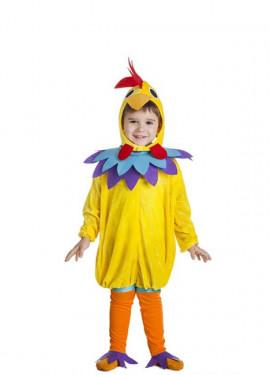 Disfraz de Pollo amarillo para niño