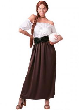 Disfraz de Posadera o Mesonera para mujer adulta