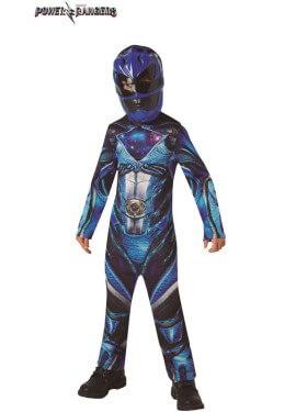 Disfraz de Power Rangers Azul para niño
