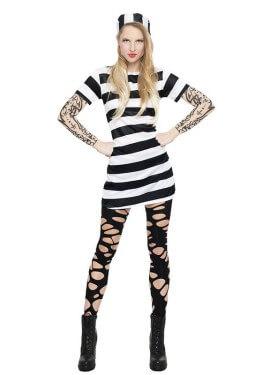 Disfraz de Presa con Tattoo para mujer