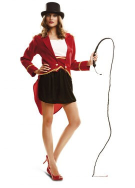 Disfraz de Presentadora De Circo Oro para mujer