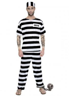 Disfraz de Preso Tattoo para hombre