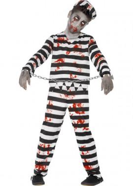 Déguisement Prisonnier Zombie