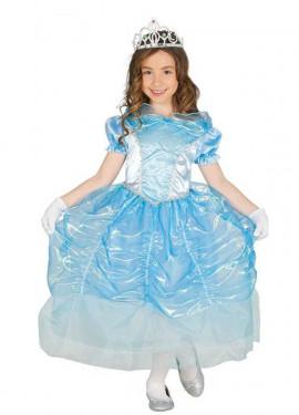 Disfraz de Princesa Cisne azul para niña