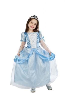 Disfraz de Princesa de Baile Celeste para niña