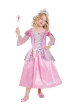 Disfraz de princesa de cuento para niñas de 3 a 6 años