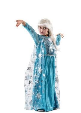 Costume da Principessa del Ghiaccio per bambina