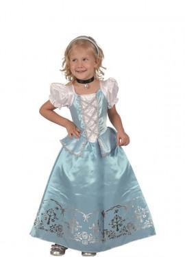 Disfraz de Princesa del Hielo para niña