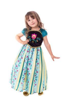Disfraz de Princesa Escandinava para niña