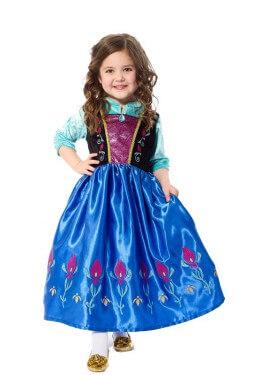 Disfraz de Princesa Escandinava Satén para niña