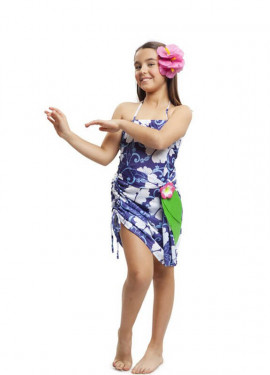 Disfraz de Princesa Hawaiana para niña