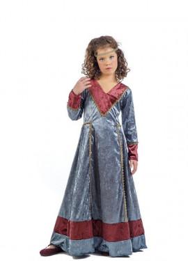 Disfraz de Princesa Medieval Jimena para niña