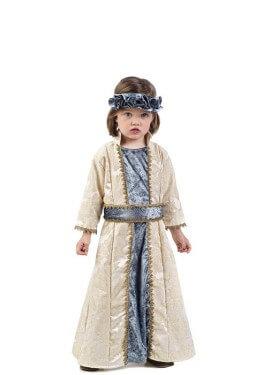 Disfraz de Princesa Medieval para niña y bebé