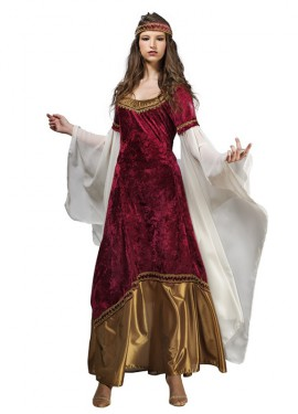 Disfraz de Princesa Medieval Uriel para mujer