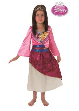 Disfraz de Princesa Mulan para Niña