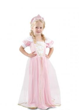 Costume da Principessa rosa per bambina e bebé