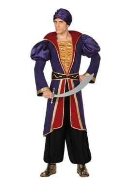 Disfraz de Príncipe Árabe morado